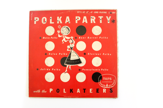 polka party with the polkateers vinyl