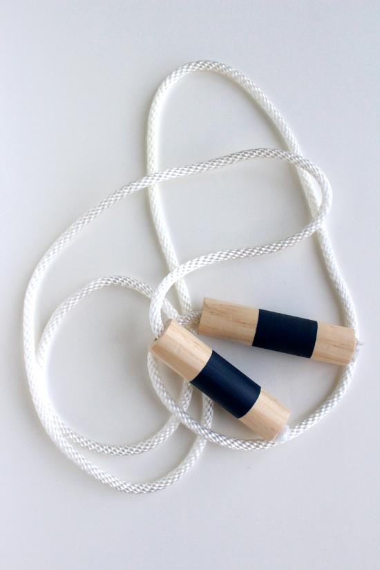 DIY Wood Jump Rope