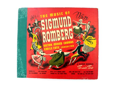 sigmund romberg vinyl