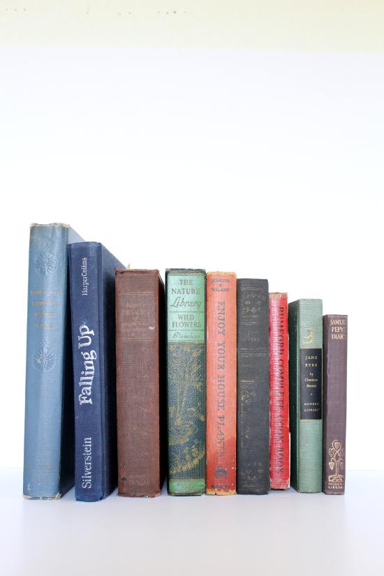 Vintage hardcover books