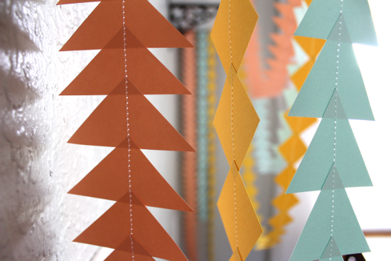 Triangle Garland Shapes