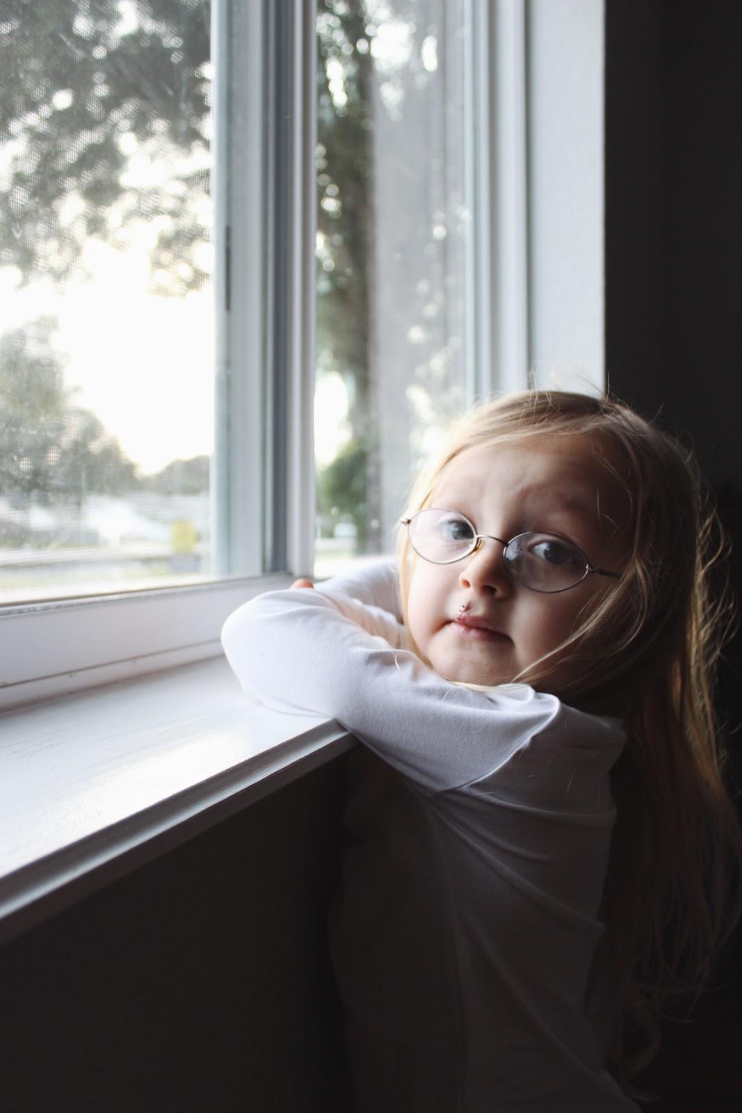Looking Away From Window