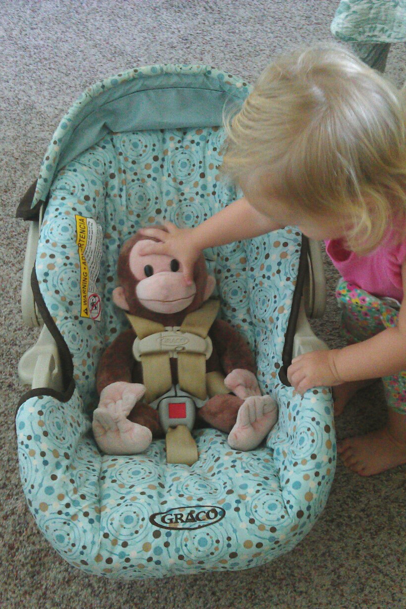 Curious George Car Seat