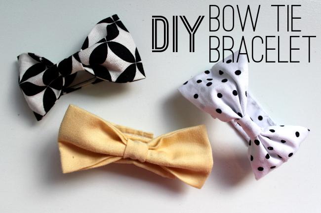 Bow Tie Bracelets Text