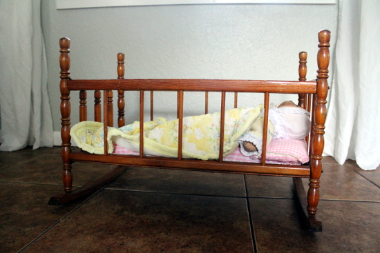 Baby Doll Cradle