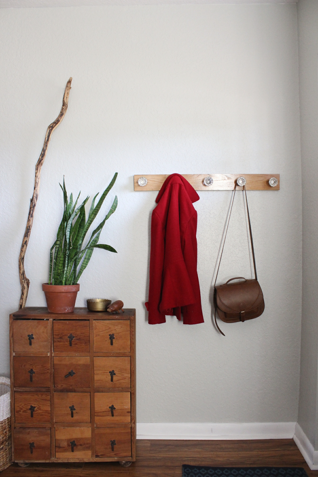 Entry Coat Rack