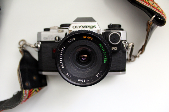 Olympus Camera with Strap