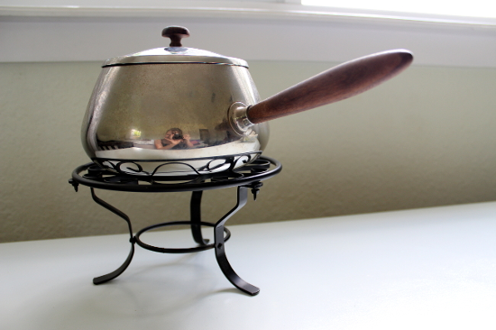 Fondue Pot and Stand
