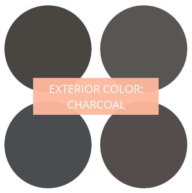 exterior dark gray black color