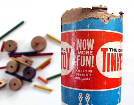 Tinker Toys Box