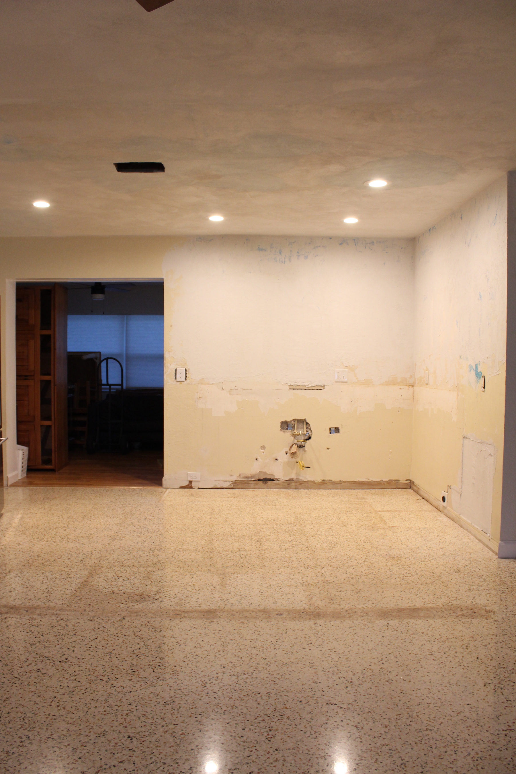 Terrazzo Refinishing Before And After Turning It Home