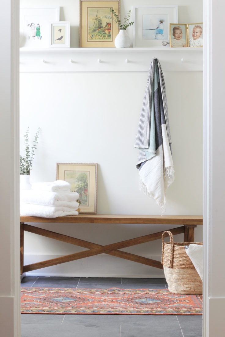 towel coat rack