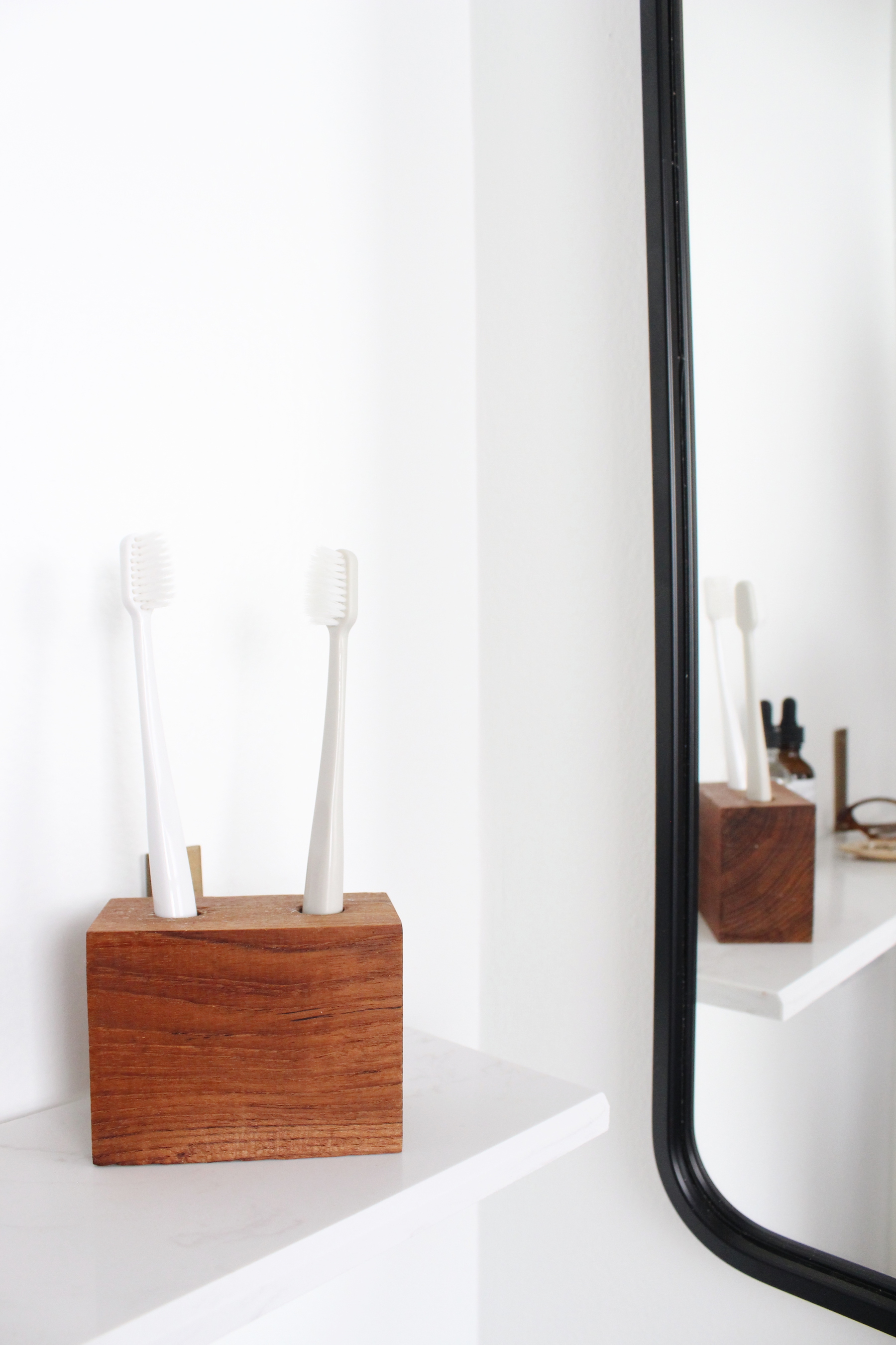 diy toothbrush holder