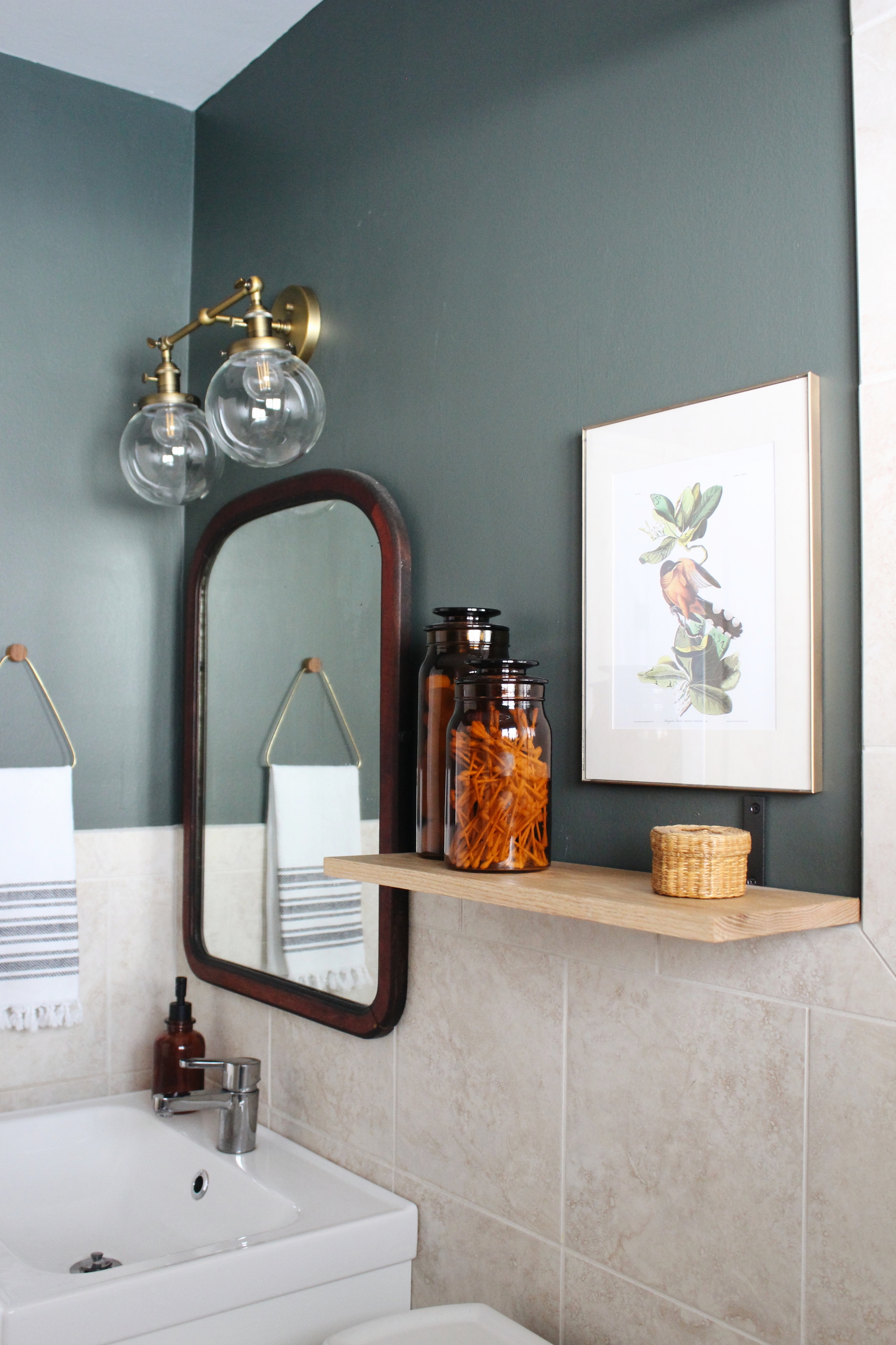 diy bathroom makeover on a tight budget